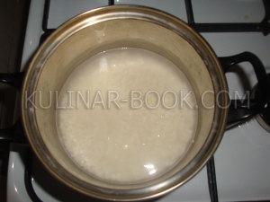 Ставим варить рис на огонь