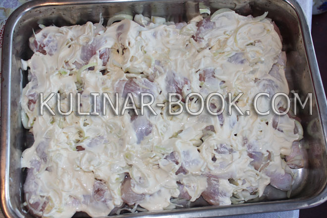 Рецепт диетически приготовленной свинины