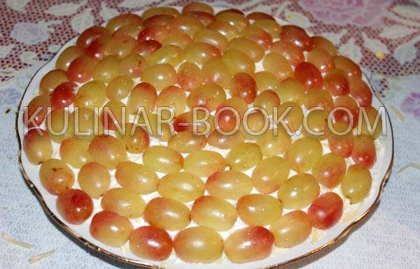 салат с виноградом рецепт классический