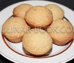 Кексы в силиконовой форме, классический рецепт с фото