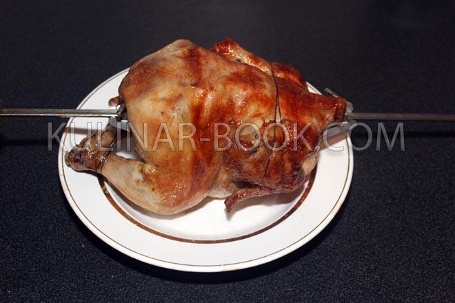 гриль в духовке на вертеле рецепт фото